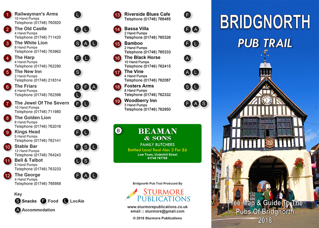 Bridgnorth Pub Trail Page 1